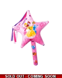 12 x Disney Princess Inflatable Star Wands